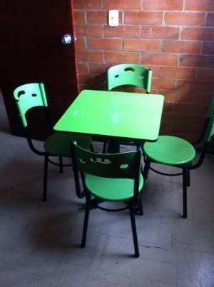 Se vende mesas y sillas para jardin posot class for Mesas y sillas para oficina