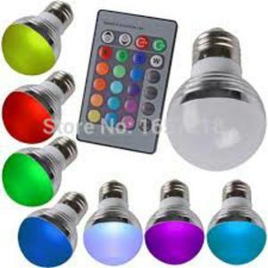 Bombillo Multicolor con Control