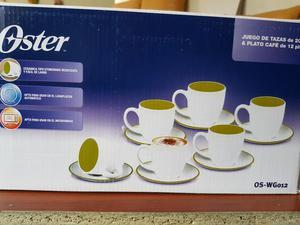 Juego de 6 tazas y platos alem nes para el t posot class for Juego de tazas de te
