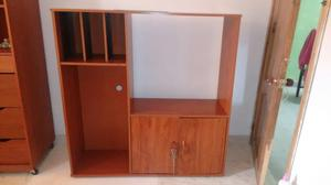 Mueble para tv equipo de sonido dvd y cali posot class - Muebles para equipo de sonido ...