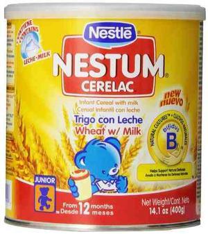 Nestlé Cerelac De Trigo Con Leche De Cereales,  Onza