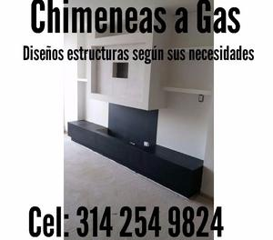 Venta de sistemas para chimeneas a gas en Bogota