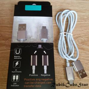Cable Usb Magnetico Rapida Carga mm Android Plateado