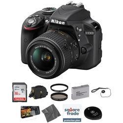 Nikon D Dslr Camera Kit With mm Lens (black)