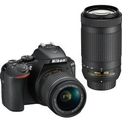 Nikon D Dslr Camera With mm And mm Lenses