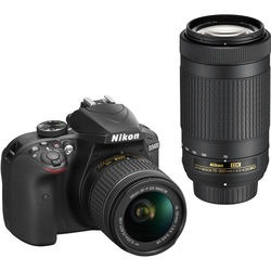 Nikon D Dslr Camera With mm And mm Lenses (bl