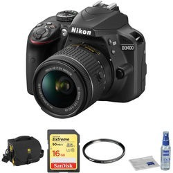 Nikon D Dslr Camera With mm Lens Basic Kit (black)