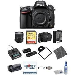 Nikon D610 Dslr Camera With mm Lens Deluxe Kit
