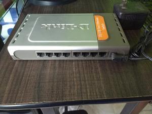 Switch Dlink de 8 Puertos