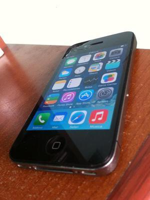 iPhone 4 8gb SOLO COMO IPOD Y REDES SOCIALES Lea