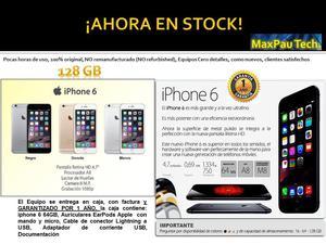 iphone 6 de 128 GB  como nuevo, garantia Regalo