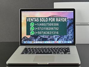 lote usados Apple Macbook Pro 15.4 Retina, Core I7 2.2ghz,
