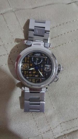 Reloj Cartier Automático en Acero Y Oro