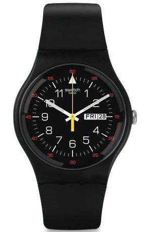 Reloj Swatch Suob724 Silicon Negro Hombre