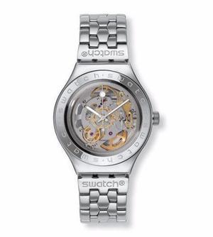 Reloj Swatch Yas100g Maquinaria Descubierta Para Caballero