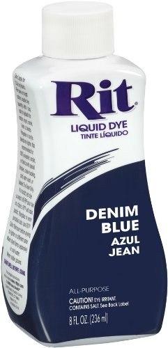 Rit De Uso Múltiple Líquido Colorante, Denim Blue