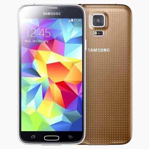 Samsung Galaxy S5 Grande G900 Nuevo Libre Color Dorado Jao