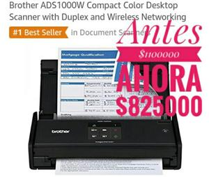 Scanner Color Compacta Brother