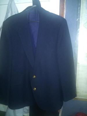 blazer nuevo color azul oscuro talla 44 nuevo oferta 40mil