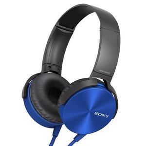 Audifono Sony Extra Bass De Diadema Azul - Mdrxb450apl