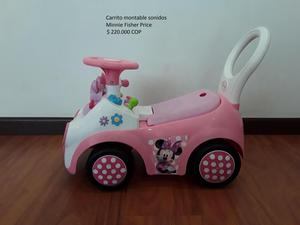 Carrito montable Sonidos Minnie Fisher Price