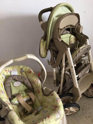 Coche de Bebé incluye silla para el carro