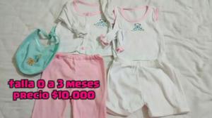 Lote de Ropa para Bebé