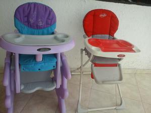 Vendo silla comedor bebe