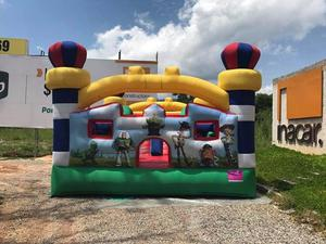 alquilo lindo inflable TOY STORY con resbaladero interno