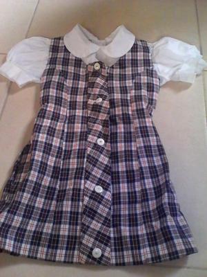 uniforme de cajasan de niña