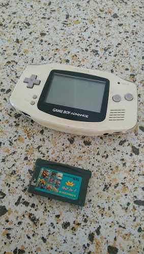 Game Boy Advance Blanco Con Película Multijuegos