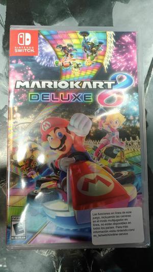 Mario Kart 8 Deluxe Nintendo Switch Nuev