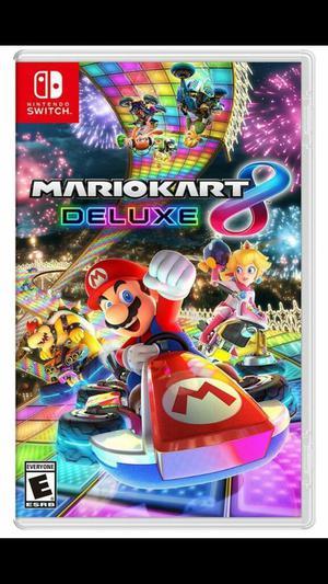 Mario Kart 8 Deluxe Nuevo Sellado