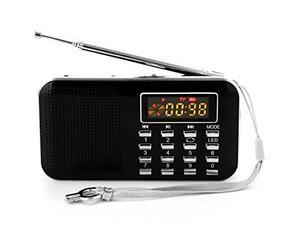 Mifine Mini Digital Am / Fm De Radio De Bolsillo De Moda...