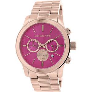 Mk Oro Rosa Acero Inoxidable Cuarzo Reloj De Michael