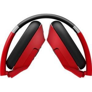 Auricular De Bluetooth Genius Hs-930bt, Rojo
