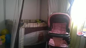 Camacuna y coche para bebe