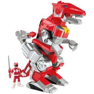 Fisher-price Imaginext Power Rangers Rojo Ranger Y Zord De