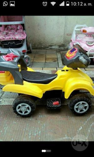 Gangazo Carro de Batería para Niño en Ex