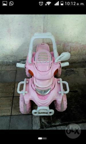 Gangazo Moto de Batería para Niña
