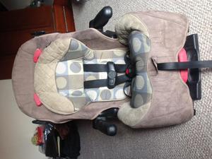 Moises para bebe eddie bauer posot class for Silla de carro para bebe