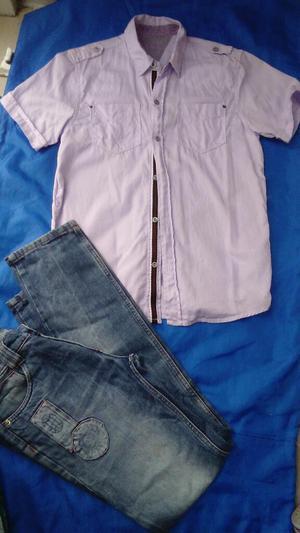 Vendo Un Jean Y La Camisa Nueva