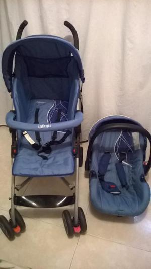coche para bebe infanti con porta bebe