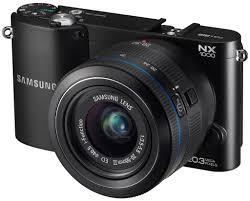 Camara Samsung NX RAW mirrorless