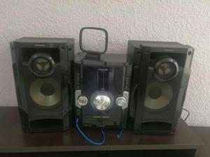 Equipo de Sonido Panasonic Y Lámparas