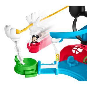 Fisher Price Disney Mickey Mouse Zip, Deslizamiento Y Zoom