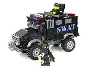 Juguete Blindado Swat De La Policía De Camiones - Battle Se