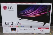 LG 43''4K UHD 3D SMART TV CORE