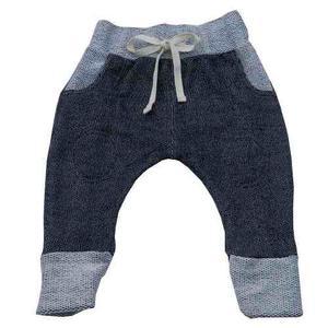 Pantalón Roki Negro Gallineta - 0-3m