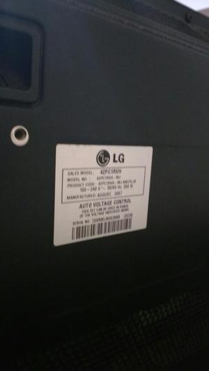 Se Vende Televisor Lg 42 para Repuestos